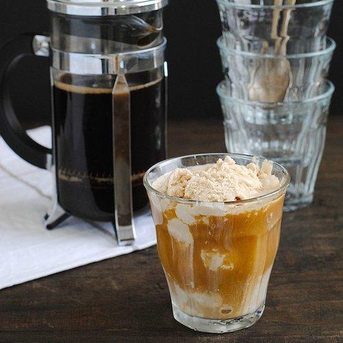 Double Coffee Affogato