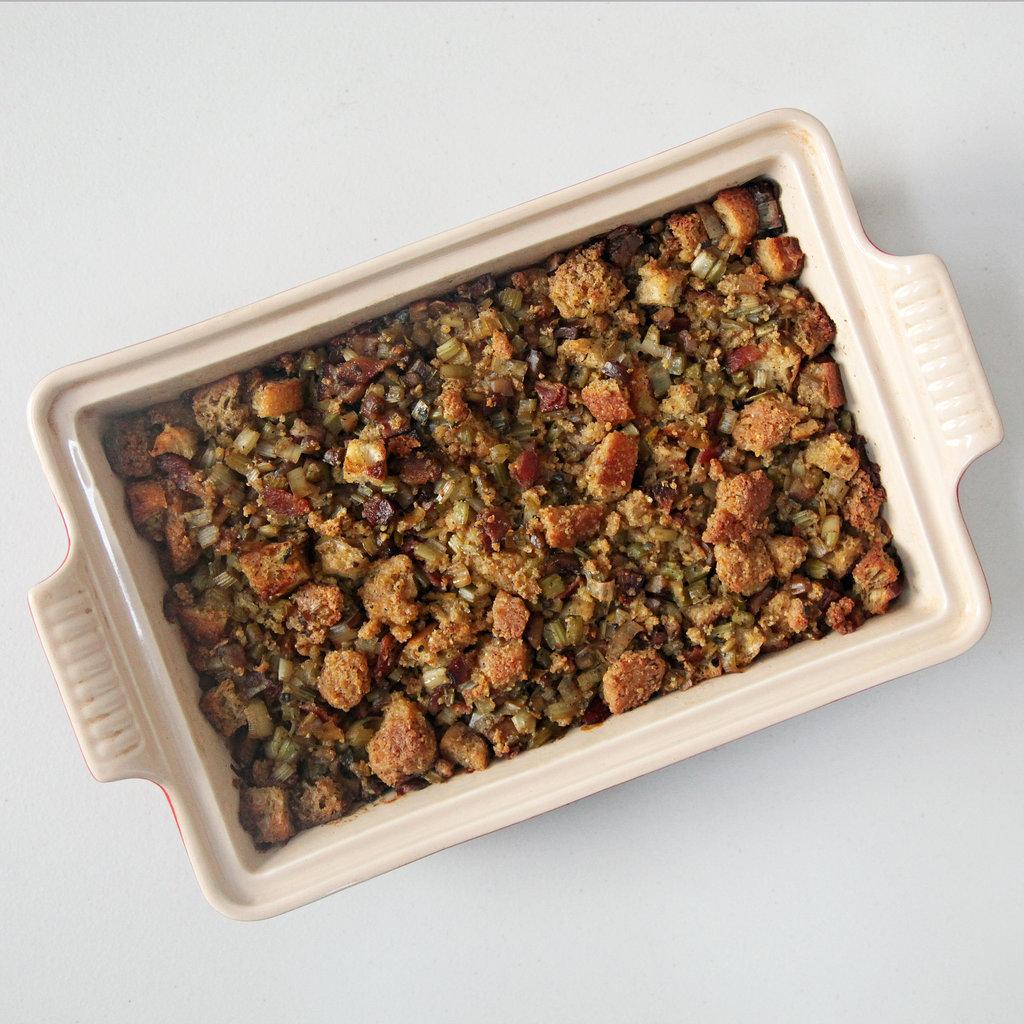 Roasted Chestnut Cornbread Stuffing