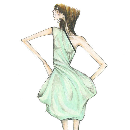 Designer Sketches For 2015 Spring New York Fashion Week