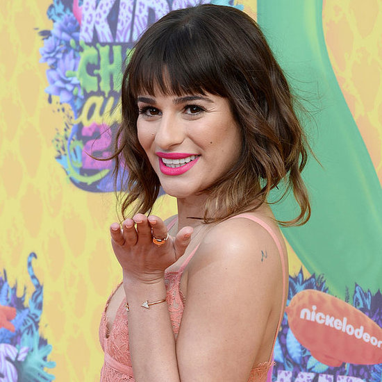Lea Michele Best Makeup Hair Beauty Evolution