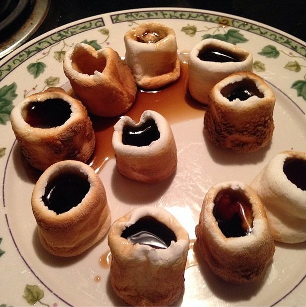 Drink Faster; the Kahlua Marshmallow Shots Are Melting!