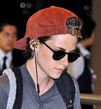 Kristen Stewart at Narita airport before Labour Day long weekend