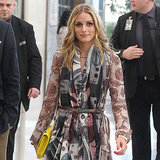 Olivia Palermo in Burberry Herbst/Winter 2014