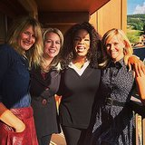 Reese Witherspoon and Oprah at 2014 Telluride Film Festival