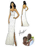 Gabrielle Union's Mega-Glam Wedding Dress: See the Sketch!