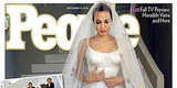 Angelina Jolie's Wedding Dress Revealed On The Cover Of People Magazine