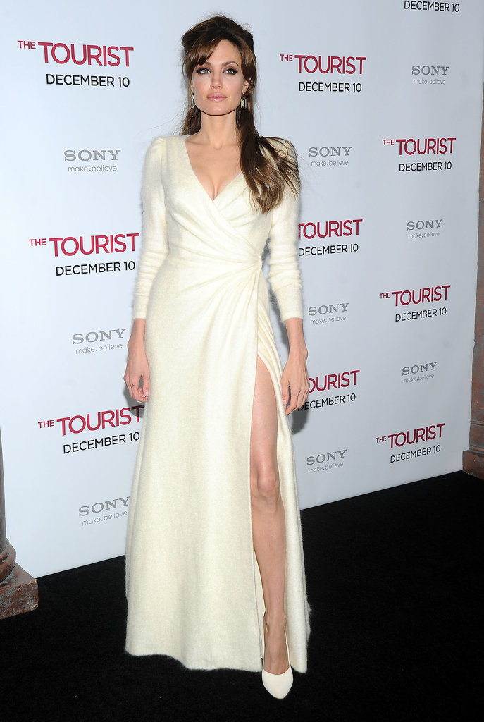 Angelina Jolie at the 2010 New York Premiere of The Tourist