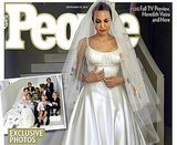 Angelina Jolie Transforms Versace Bridal into True Mom Attire