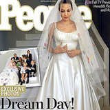 Angelina Jolie's Wedding Dress Style