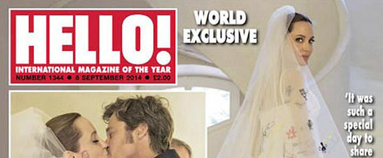 Wait Until You See How Angelina Jolie Incorporated Her Kids Into Her Wedding Attire