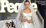 Angelina Jolie's Wedding Dress and Veil Features Pictures Drawn by Her Children!