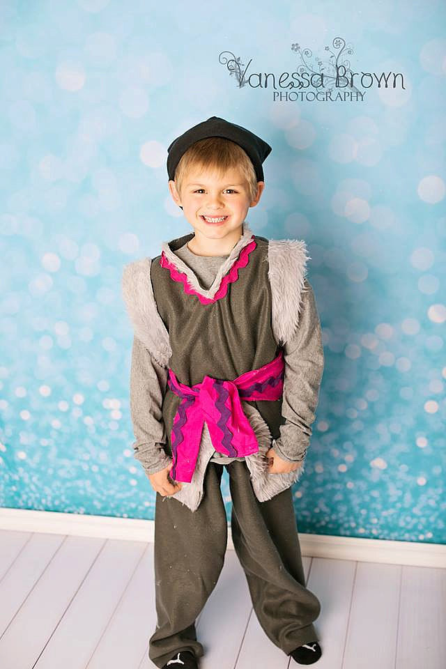The most affordable option for your little Frozen fan's Kristoff getup is this handmade costume ($35).