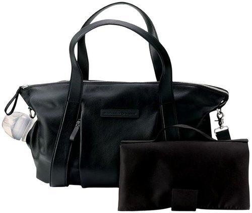 Bugaboo Storksak Leather Diaper Bag