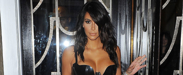 Kim Kardashian Just Outdid Herself in This Leotard