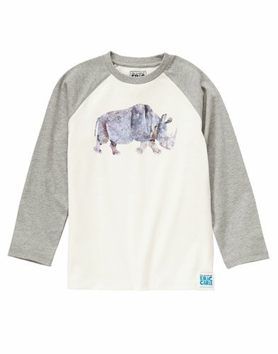 This rad rhinoceros shirt ($22) is perfect for a rough-and-tumble tyke.