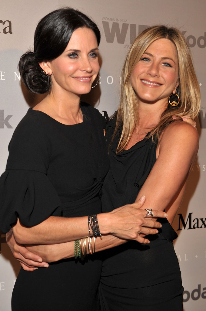 Courteney Cox and Jennifer Aniston Both Dated . . .