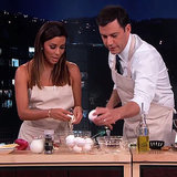 Eva Longoria Makes Eggs Video