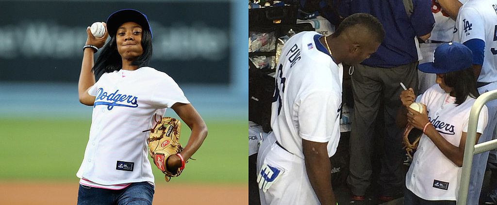 Little League Star Mo'ne Davis Signs Autographs For LA Dodgers, Continues to Be a Boss