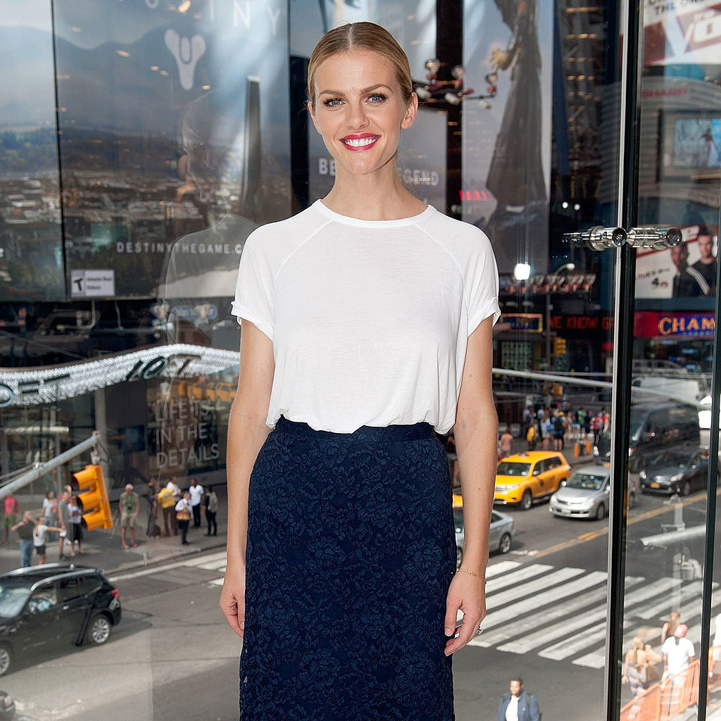 Brooklyn Decker's Lace Skirt