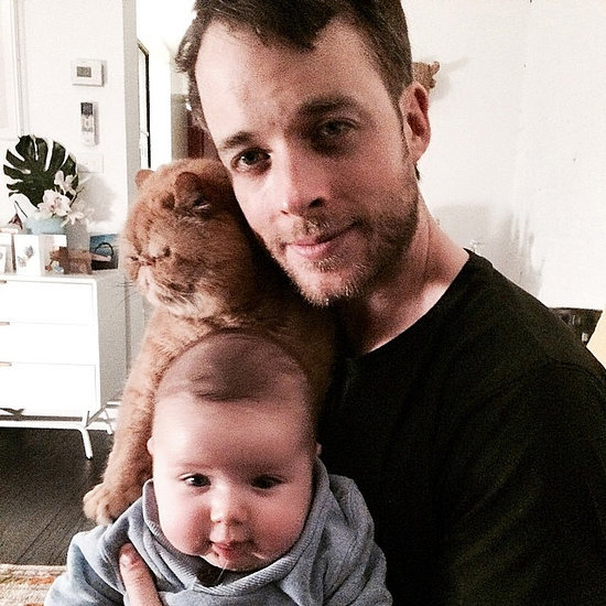 Cute Celebrity Dads and Their Kids on Instagram Pictures
