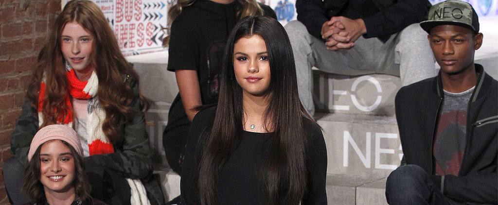 Selena Gomez Designed a Fashion Week Show With a Little Help From Her Fans