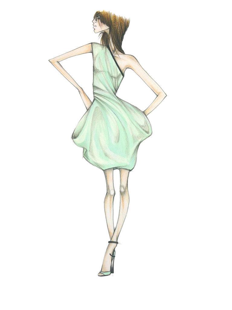 Lucite Green: Monique Lhuillier