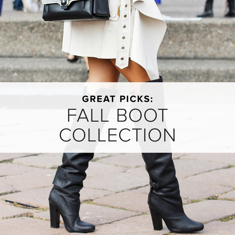 The Best In: Boots For Fall