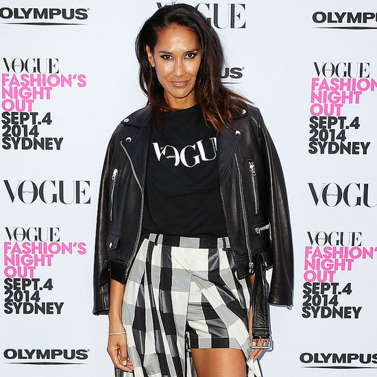 Celebrities at the 2014 Vogue Fashions Night Out