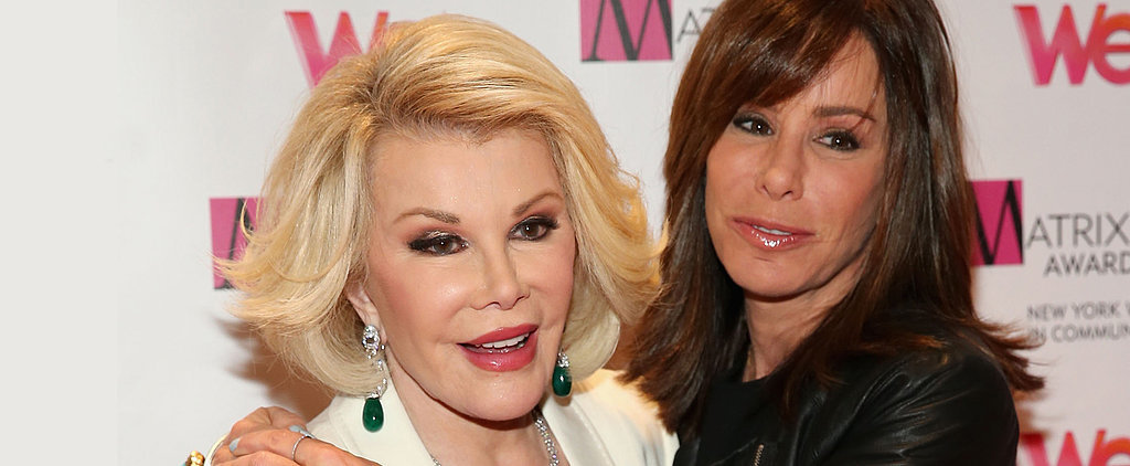 Joan Rivers Shared Her Wisdom on Life and Death Years Ago