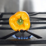 How to Roast Peppers on a Gas Stove