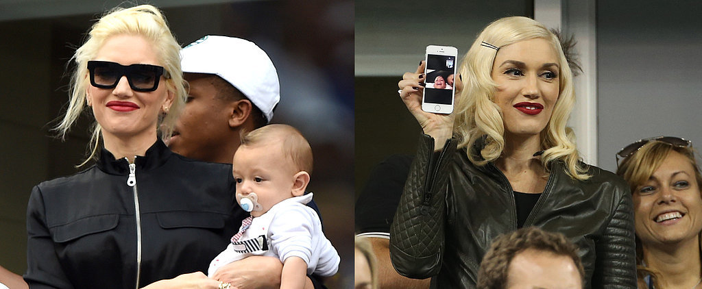 Gwen Stefani Takes Baby Apollo on His First Public Outings
