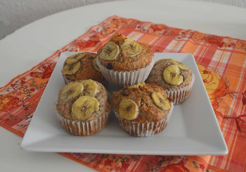 Whole grain 'health' muffins