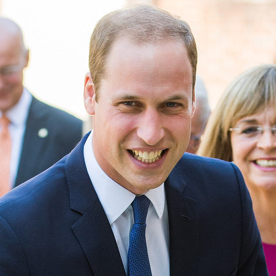 Prince William After Royal Baby Announcement 2014