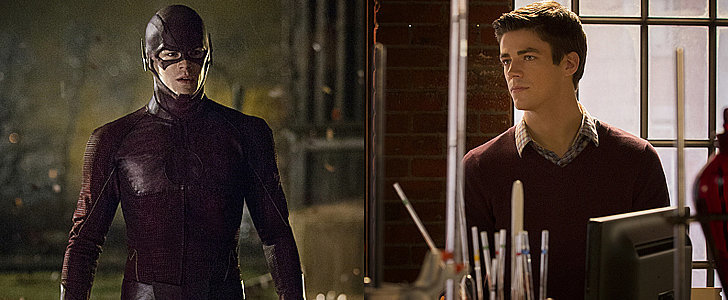 See The Flash in and Out of His Costume in New Pictures
