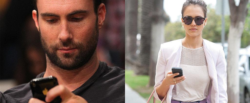 Celebs Who Can't Ditch Their iPhones Despite Endorsement Deals