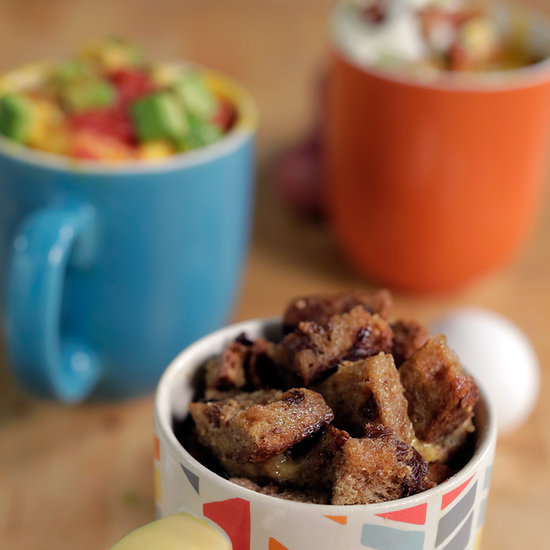 3 Microwaveable Breakfast Mugs You Can Eat on the Go