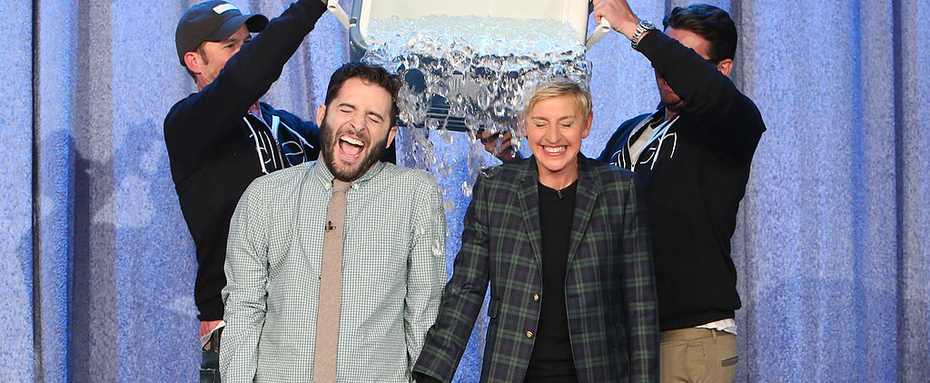 Ellen Shares a Sweet Moment With the Guy Behind the Most Viral Ice Bucket Challenge Video