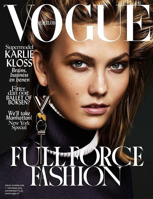 Vogue Netherlands October 2014