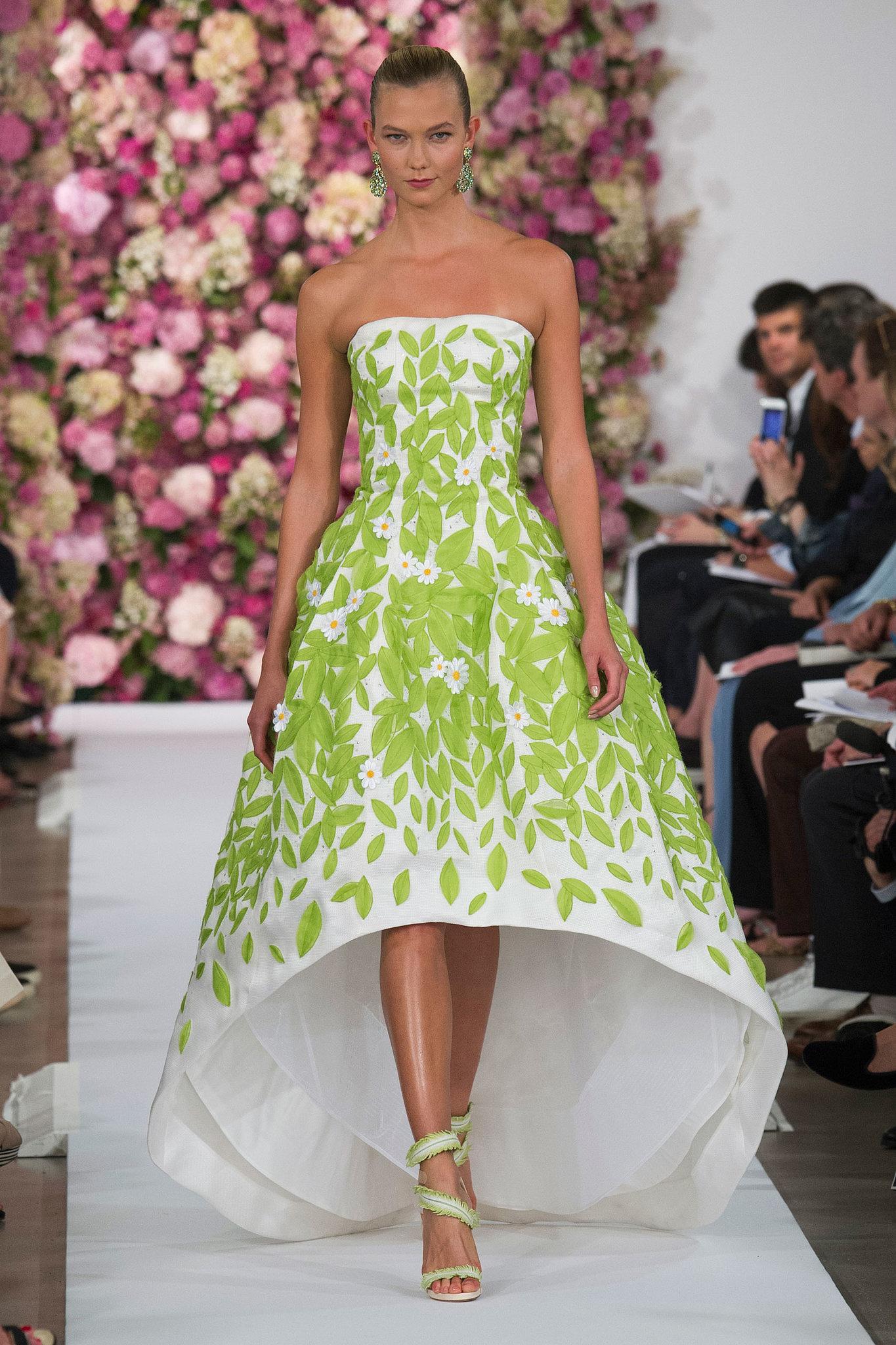 Oscar de la renta spring 2015 behold the most gorgeous gowns of