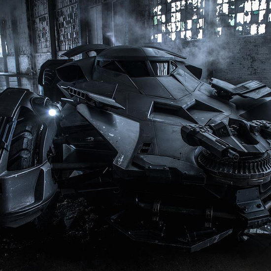 Batman v Superman: Here's the Real First Look at the Batmobile