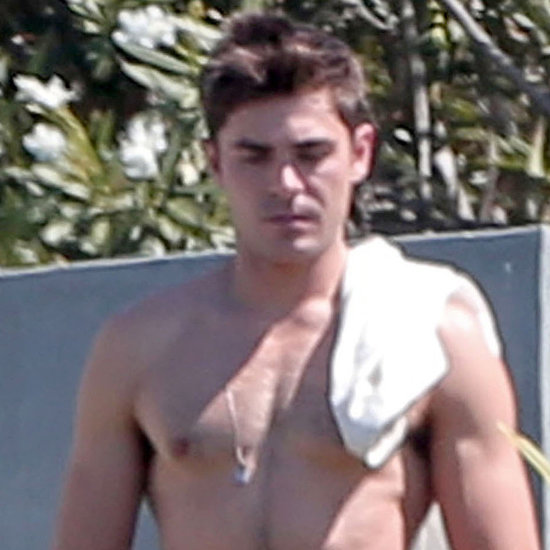Fact: There Is No Such Thing as Too Much Zac Efron Shirtlessness