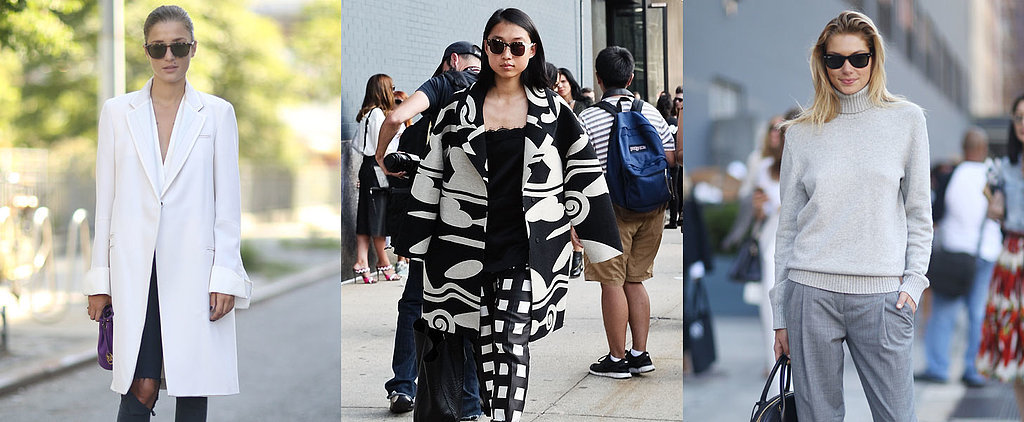These Street Style Stars Clearly Didn't Get the Weather Report