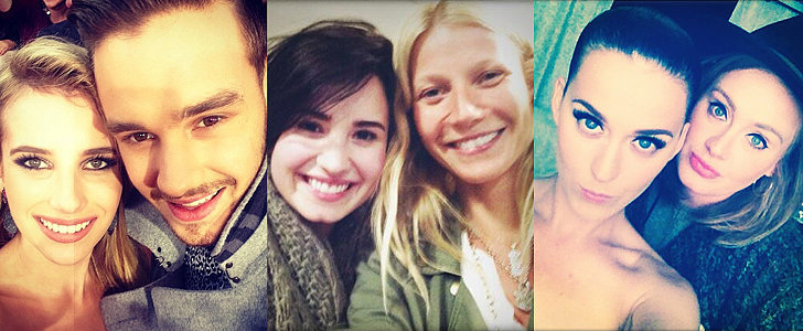 Bet You Didn't Think These Stars Would Be in Selfies Together!