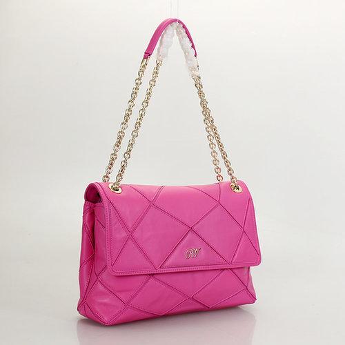 Roger Vivier Prismick Shoulder Bag Pink A11