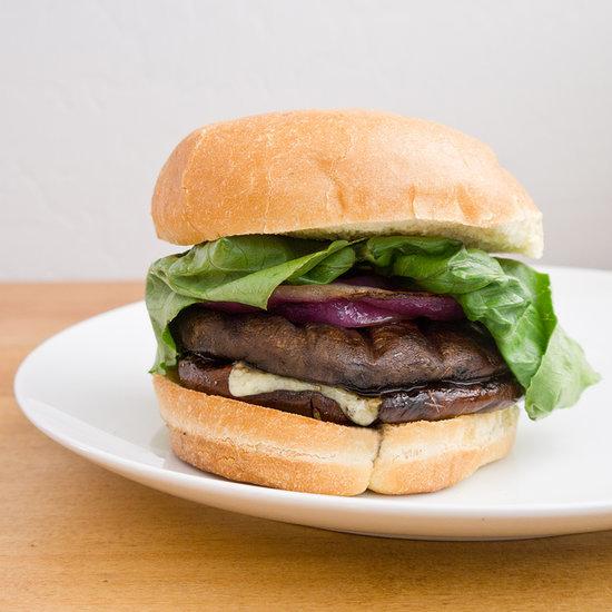 Portobello Mushroom Veggie Burgers That Even Meat-Eaters Will Love