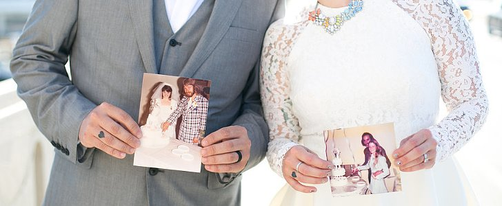 This Couple Took Their Wedding Pics Before Their Big Day