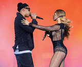 Beyonce, Jay Z Express Love to One Another in Final On the Run Tour Concert in Paris Amidst Pregnancy Rumors
