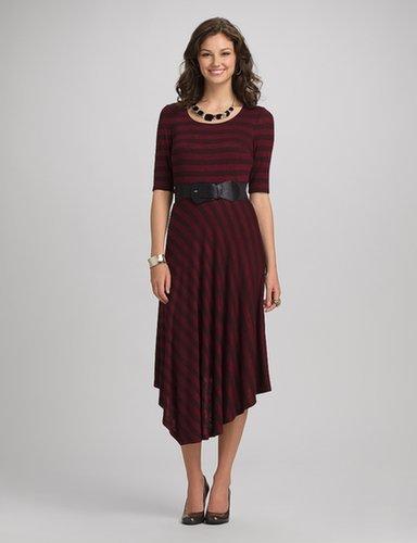 roz & ALI™ Striped Midi Dress