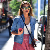 Jessica Alba in H&M | Street Style