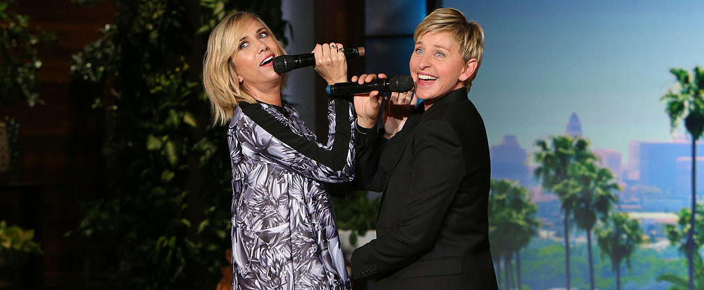 "Kristen Wiig and Ellen DeGeneres Sing the Worst Cover of ""Let It Go"""